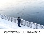 One Fisherman Is Fishing On...