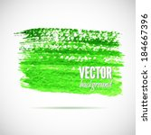 watercolor elements for design. ... | Shutterstock .eps vector #184667396
