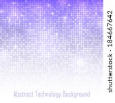 Abstract Violet Technology...