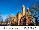 Cathedral In Speyer  Germany....