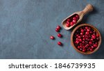 Fresh And Sweet Cranberries In...