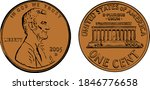 United States Copper Penny...
