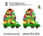 find 8 differences.... | Shutterstock .eps vector #1846781398
