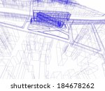 architecture buildings | Shutterstock . vector #184678262