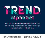 vector of modern abstract... | Shutterstock .eps vector #1846873375