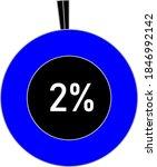 2  circle percentage diagram...