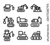 Excavator Icon Or Logo Isolated ...