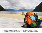 Tourists Backpack . Norvegian...