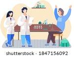 scientific research. equipment...   Shutterstock .eps vector #1847156092