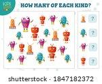 how many of each kind cartoon...   Shutterstock .eps vector #1847182372
