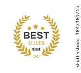 best seller badge icon logo... | Shutterstock .eps vector #1847184715
