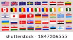 collection of popular world... | Shutterstock .eps vector #1847206555