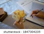 Turkish Money. Money Box....