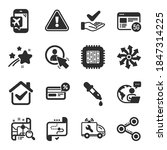 set of technology icons  such...   Shutterstock .eps vector #1847314225