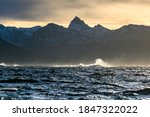 Breaking Waves On The Nordland...