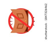 Stop Slamming The Door Sign....