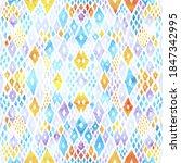 seamless watercolor pattern.... | Shutterstock .eps vector #1847342995