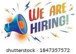 we are hiring   advertising... | Shutterstock .eps vector #1847357572