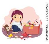 vector illustration cartoon of...   Shutterstock .eps vector #1847363938