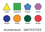 types of polygon  mathematical... | Shutterstock .eps vector #1847437255