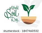 world soil day. december 5.... | Shutterstock .eps vector #1847460532