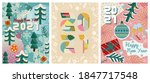 new year 2021 greeting cards... | Shutterstock .eps vector #1847717548