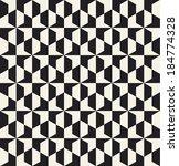 seamless vector geometric... | Shutterstock .eps vector #184774328