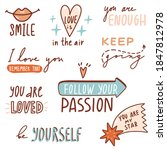 motivational quotes with... | Shutterstock .eps vector #1847812978