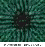 small particles strive out of... | Shutterstock .eps vector #1847847352