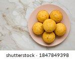 Homemade Cornbread Muffins On A ...