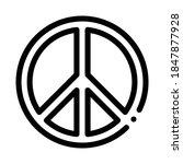 lgbt hippie love freedom sign...   Shutterstock .eps vector #1847877928