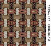 javanese batik seamless pattern ... | Shutterstock .eps vector #184796882