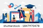 graduate school  online... | Shutterstock .eps vector #1847970478