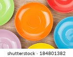 Colorful Plates And Saucers...