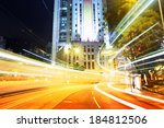 busy traffic in city | Shutterstock . vector #184812506
