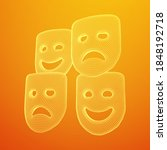 Theatrical Masks Tragedy And...