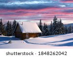 Fantastic Winter Landscape With ...