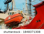 Davit Lifeboat  Rescue Boat Or...