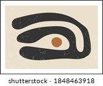 matisse inspired contemporary... | Shutterstock .eps vector #1848463918