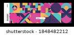 set of ticket vector template...   Shutterstock .eps vector #1848482212