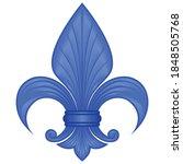 vector design of the fleur de... | Shutterstock .eps vector #1848505768