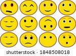 emoticon icon happy lol clipart ... | Shutterstock .eps vector #1848508018