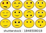 emoticon icon happy lol clipart ... | Shutterstock .eps vector #1848508018