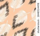 cute seamless floral vector... | Shutterstock .eps vector #1848514498