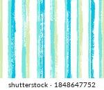 Watercolor Thin Rough Stripes...