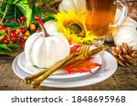 Thanksgiving Food Concept....