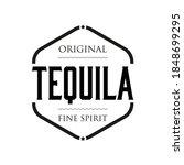 original tequila fine spirit... | Shutterstock .eps vector #1848699295