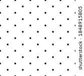 Points Seamless Pattern. Dot...
