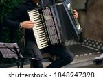 Street Musician Playing...