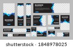 set of creative web banners of... | Shutterstock .eps vector #1848978025